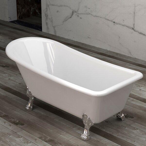Picadilly 69.25 x 28.75 Soaking Bathtub by Jade Bath