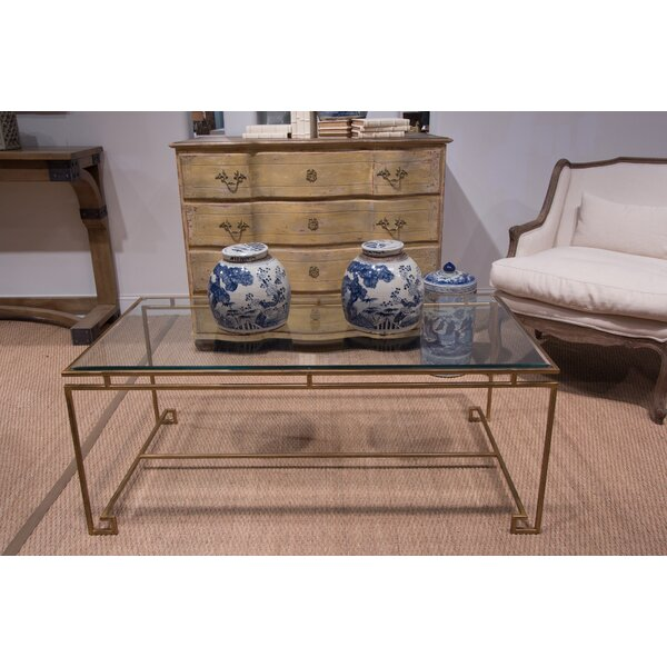 Parallel Coffee Table by Sarreid Ltd