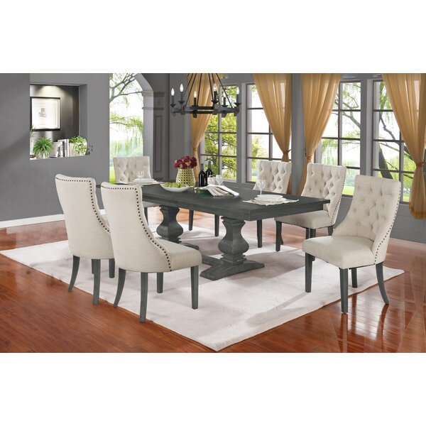 Middleham 7 Piece Bar Height Extendable Dining Set by Canora Grey Canora Grey