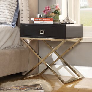 Top Marianna End Table By Everly Quinn