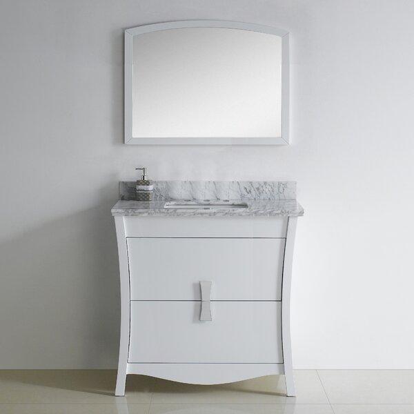 Bow 35 Single Bathroom Vanity Set by American ImaginationsBow 35 Single Bathroom Vanity Set by American Imaginations