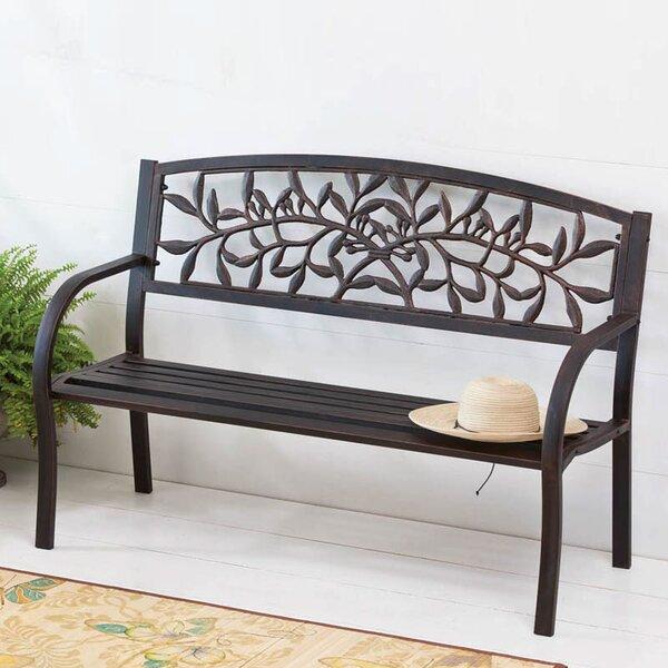 Metal Garden Bench by Cape Craftsmen
