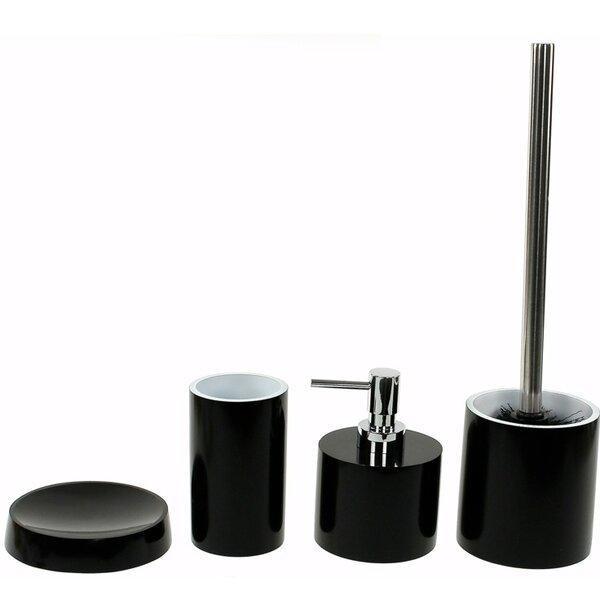 Yucca 4-Piece Bathroom Accessory Set by Gedy by Nameeks