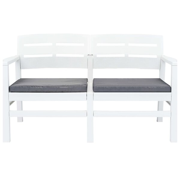 Morant Plastic Garden Bench by Highland Dunes