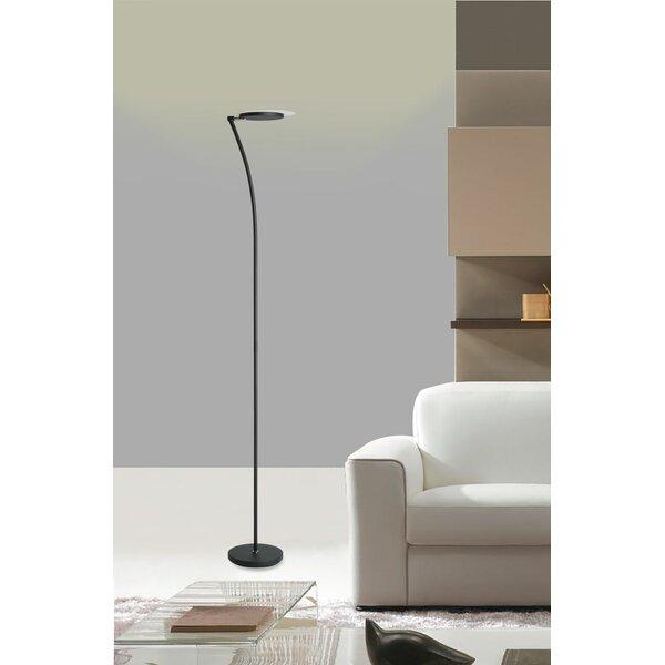 Ismail Adjustable 73 LED Torchiere Floor Lamp by Orren Ellis
