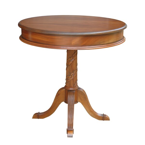 Hobert Pedestal End Table by Astoria Grand