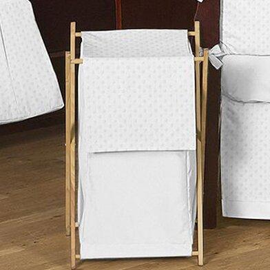 Minky Dot Laundry Hamper by Sweet Jojo Designs