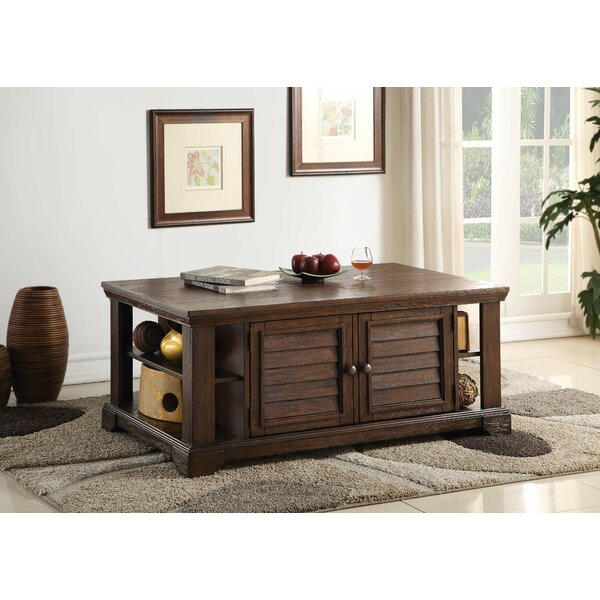 Angelica Coffee Table with Storage by Loon Peak