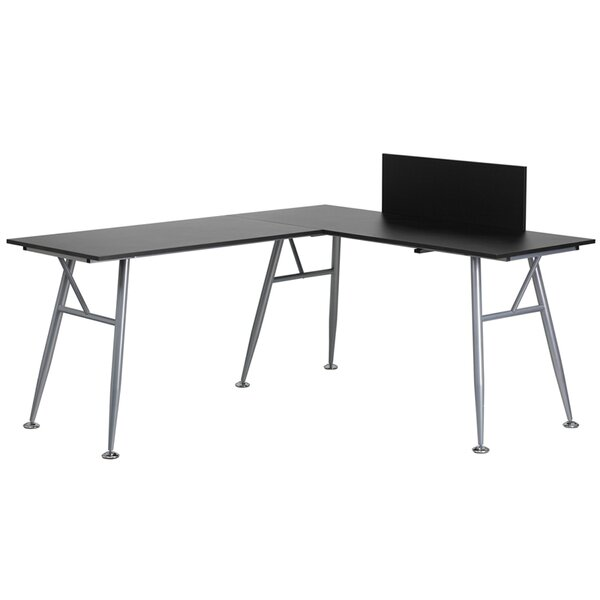 Rawley L-Shape Computer Desk by Wade Logan