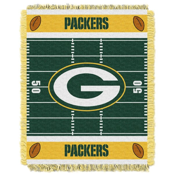 NFL Packers Field Baby Blanket by Northwest Co.