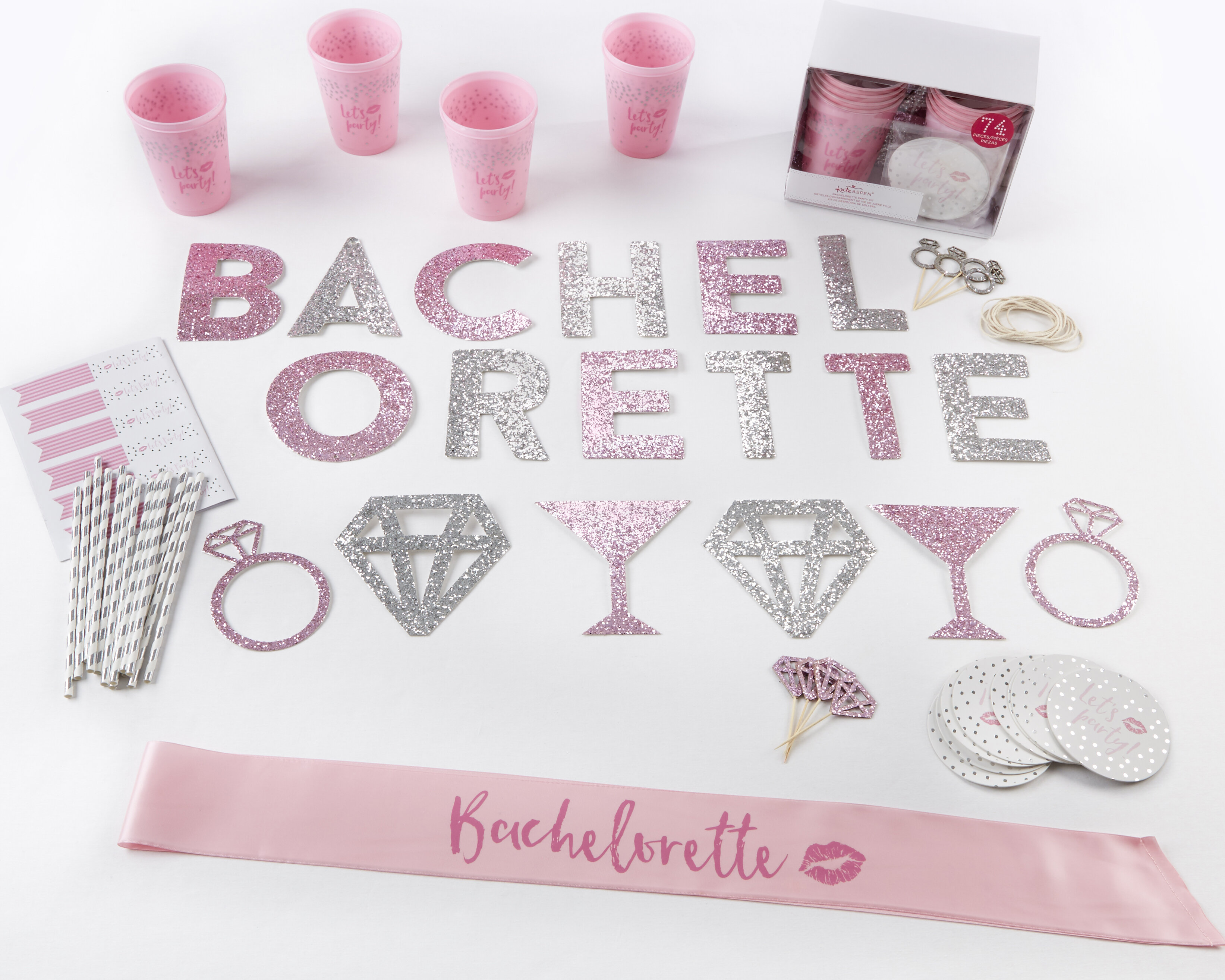 Kate Aspen Let\'s Party Bachelorette Party Kit | Wayfair