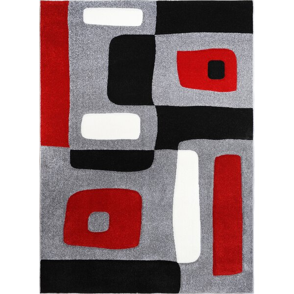 Berner Blocks Area Rug by Ebern Designs