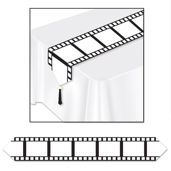Printed Filmstrip Table Runner by The Holiday Aisle
