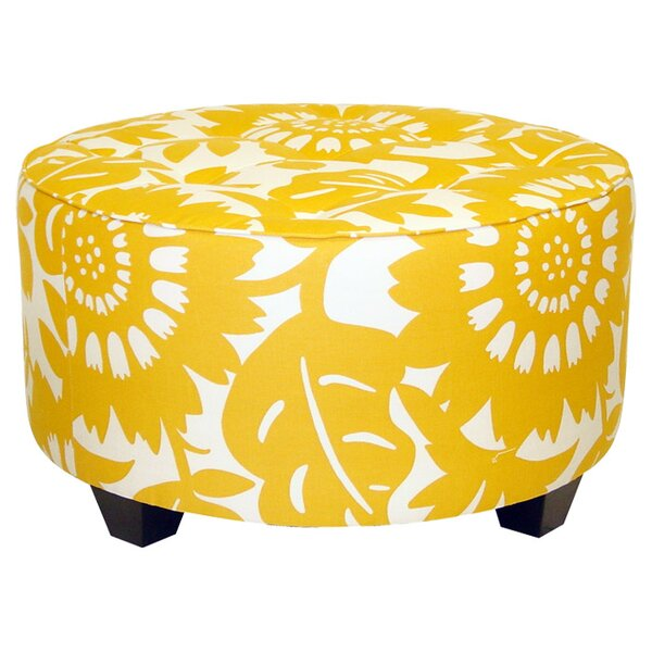 Round Cocktail Ottoman by Skyline Furniture
