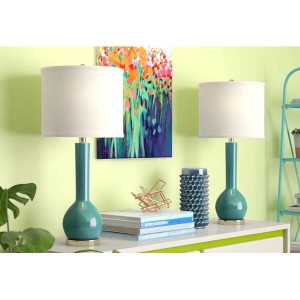 Damis 30.5 Table Lamp (Set of 2) by Mercury Row