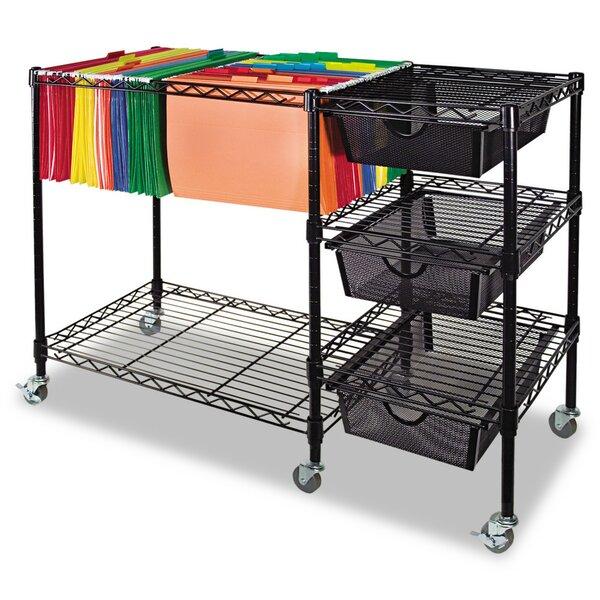 Mobile File Cart By Advantus Corp.