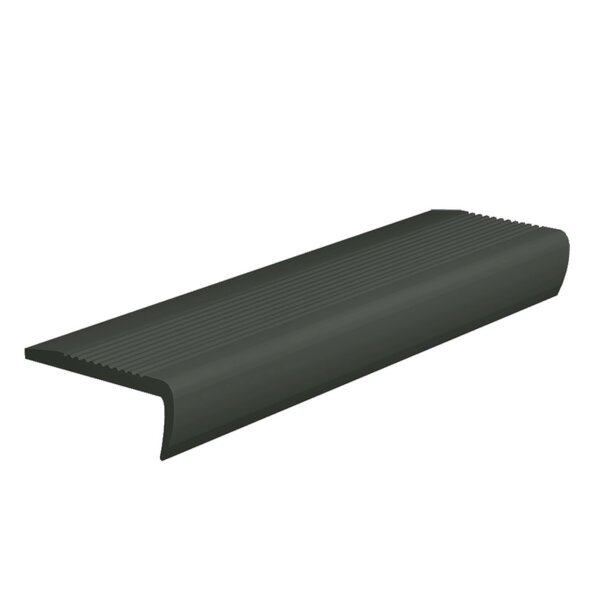 0.13 x 108 x 4 Stair Nose in Black Brown by ROPPE