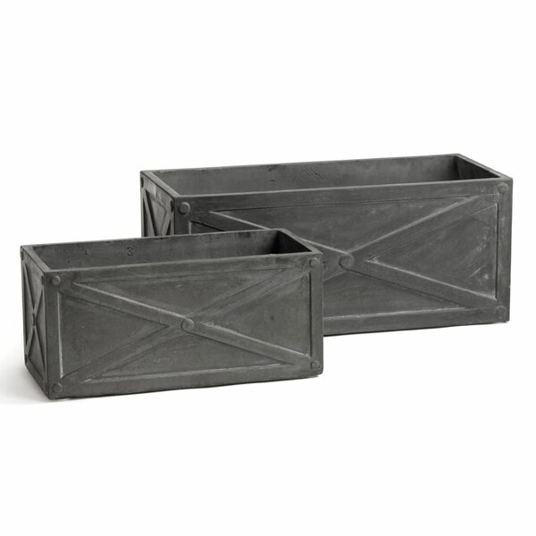 2-Piece Composite Planter Box Set by Laurel Foundry Modern Farmhouse