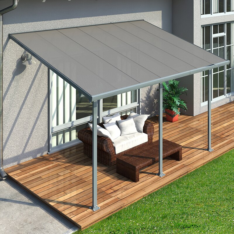 Palram Feria 10 Ft H X 14 Ft W X 10 Ft D Patio Cover