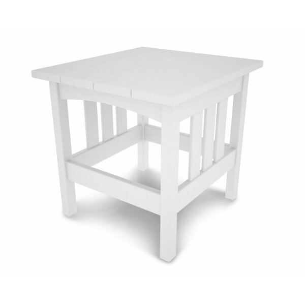 Mission Plastic Side Table by POLYWOOD®