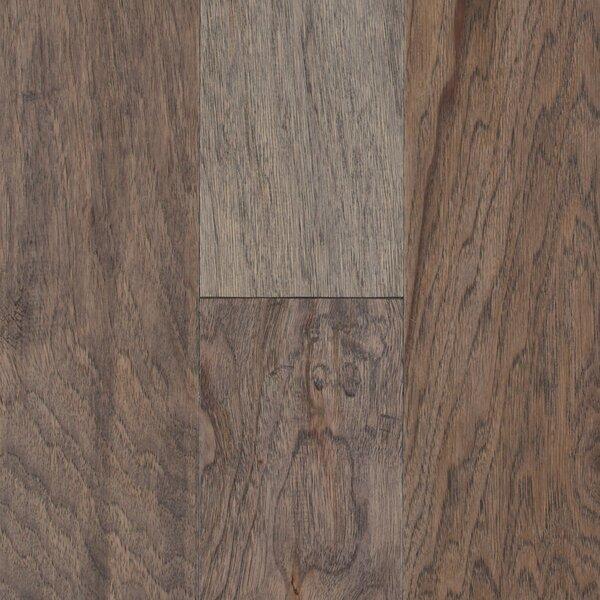 Pioneer Harbor 5 Engineered Hickory Hardwood Flooring in Gray by Mohawk Flooring