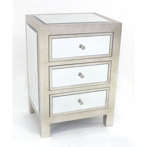 Stricker 3 Drawer Accent Chest By House Of Hampton