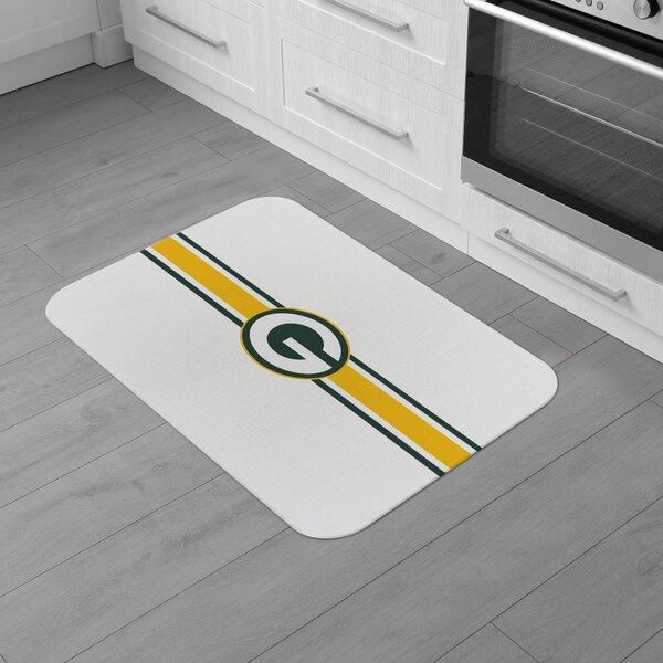Greenbay NFL Packers Burlap Comfort Anti-Fatigue Mat