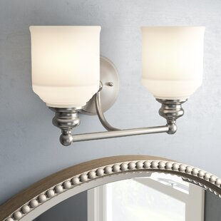 Price comparison Genevieve 2-Light Vanity Light By Charlton Home