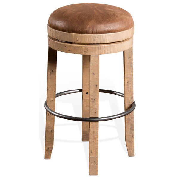 Arianna 30 Swivel Bar Stool by Union Rustic