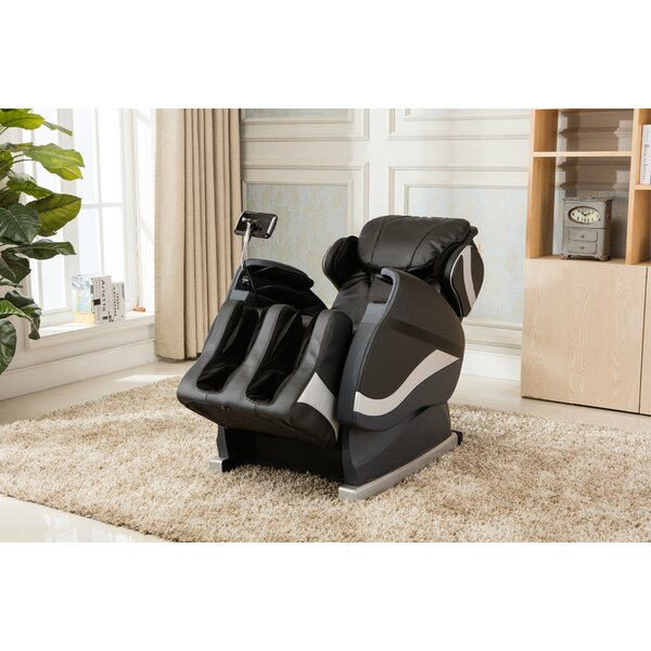 Zero Gravity Massage Chair with Footrest by Red Ba