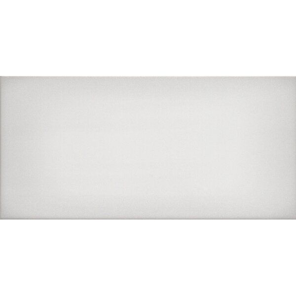 Ombre 6 x 12 Ceramic Subway Tile in Glossy White by Emser Tile
