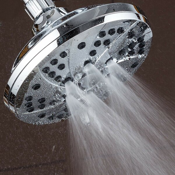 High Pressure Premium Multi Function Adjustable Shower Head By AquaDance®
