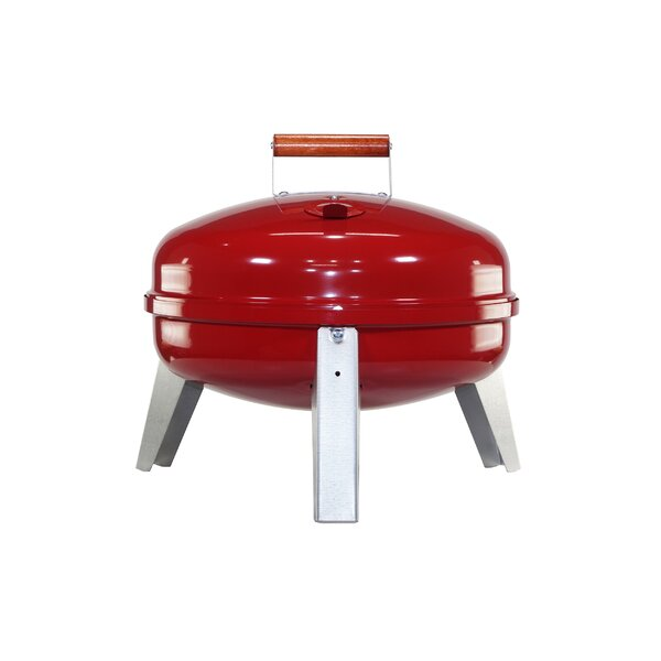 Portable Charcoal/Electric Grill by MECO Corporation