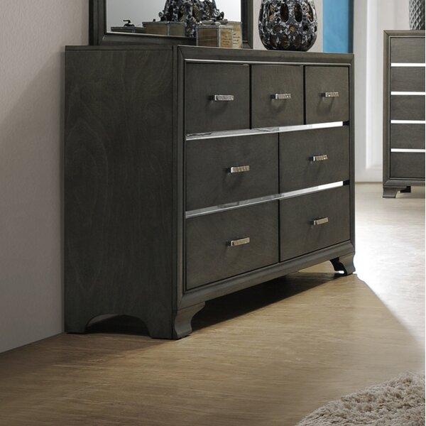 Hunedoara 7 Drawer Double Dresser by Modern Rustic Interiors