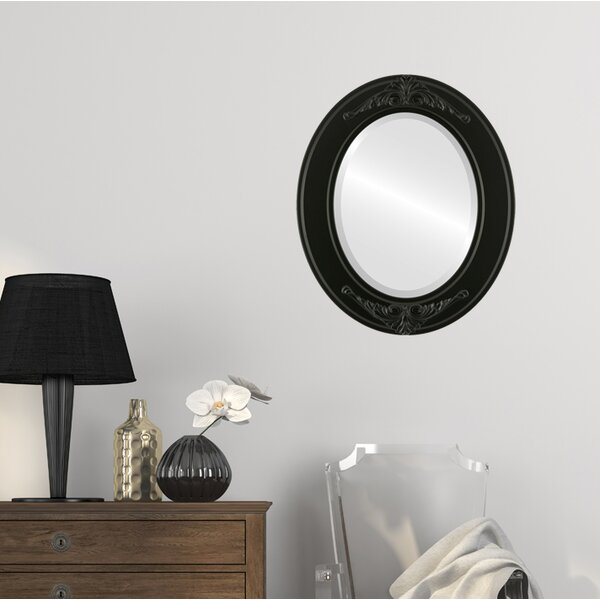 Retiro Framed Oval Accent Mirror by Astoria Grand