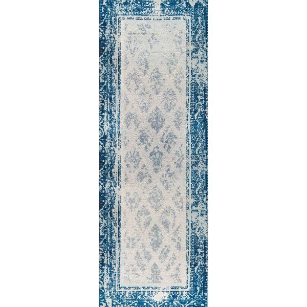 Corona Hand-Woven Blue Area Rug by M.A. Trading