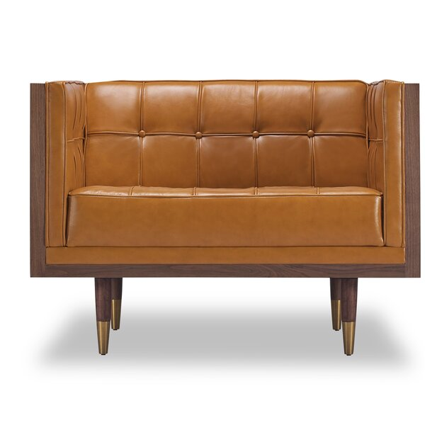 Lancaster Club Chair by Comm Office