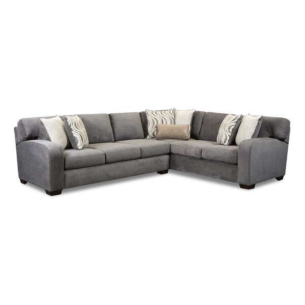 Louna Right Hand Facing Sectional By Ebern Designs