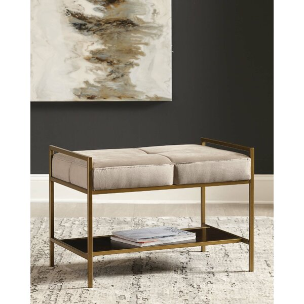 Tocoloma Upholstered Bench by Mercer41