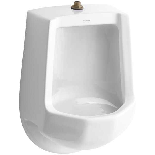 Freshman Siphon-Jet Wall-Mount 1 GPF Urinal with Top Spud by Kohler