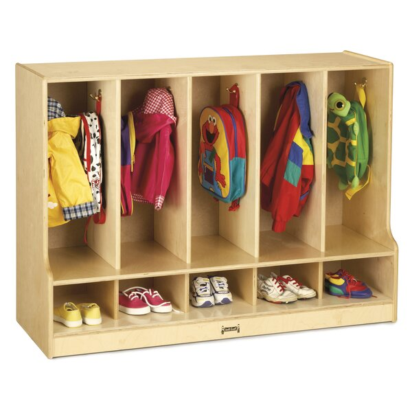 KYDZ 5 Section Coat Locker by Jonti-Craft