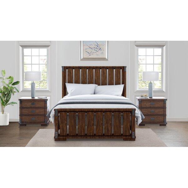 Dussault Platform Solid Wood 3 Piece Bedroom Set By Millwood Pines