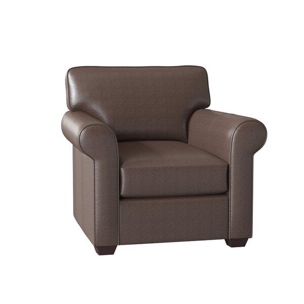 Rachel Leather Club Chair by Wayfair Custom Upholstery? Wayfair Custom Upholstery�?�