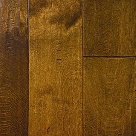 Martina 6.38 Engineered Birch Hardwood Flooring in Brown by Welles Hardwood