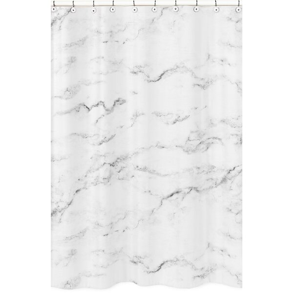 Marble Shower Curtain By Sweet Jojo Designs.