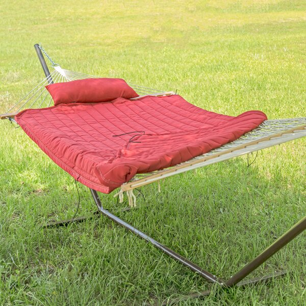 Lowestoft Double Spreader Bar Hammock with Stand by Freeport Park
