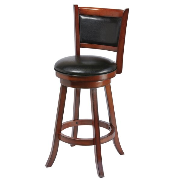 Bridgetown 30 Swivel Bar Stool by Andover Mills