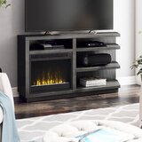 Blytheswood TV Stand for TVs up to 65 with Electric Fireplace Included by Latitude Run