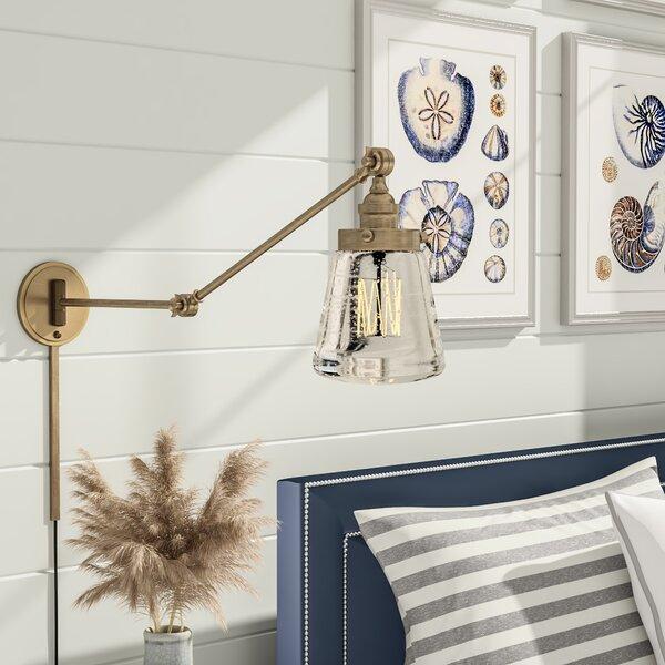 Brinley Swing Arm Lamp by Breakwater Bay