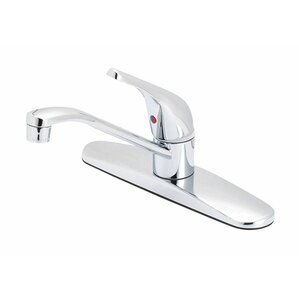 Oakbrook Collection Single Handle Deck Mounted Standard Kitchen Faucet